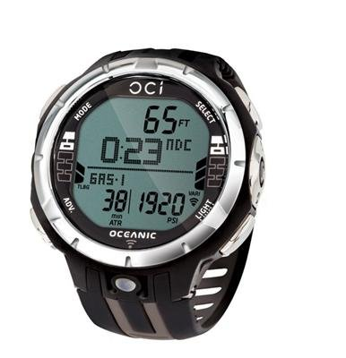 Oceanic Oci Tauchcomputer. Armbandmodell. mit USB-Kabel - ohne Sender- titanium - 04-8792-29-M
