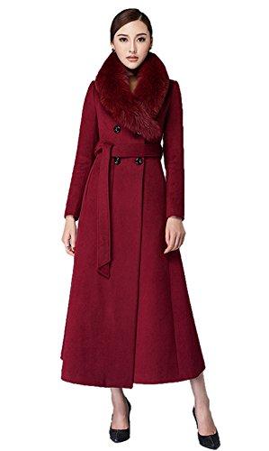 Insun Damen Trenchcoat Mantel Gr. 34, (Mantel Roten Floor Length)