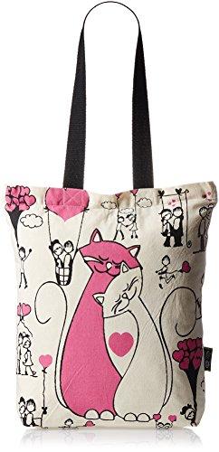 Kanvas Katha Fashion Women's Tote Bag (Ecru) (KKCAMZSS16029)