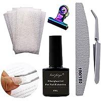 Seda y fibra de vidrio para manicura y pedicura | Amazon.es