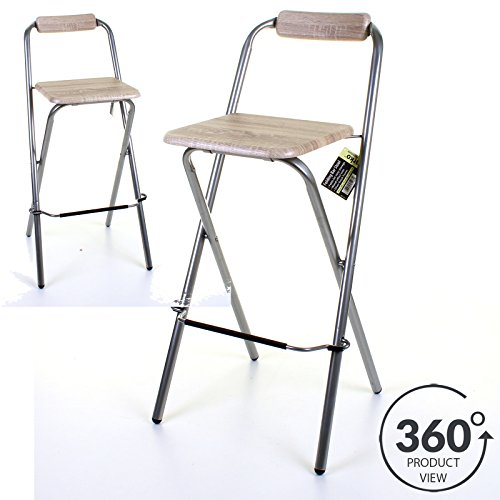 marko-furniture-folding-wooden-bar-stool-chair-breakfast-kitchen-seating-silver-frame-seat-home-1-st