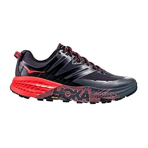 HOKA ONE ONE Speedgoat 3 Scarpe Sport Donne Grigio/Rosso - 41 1/3 - Running/Trail