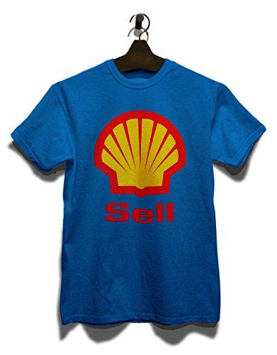 Sell Logo T-Shirt Royal Blau