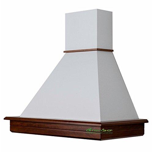 Cappa cocina, diseño rústico madera nogal población 90 amazon chimenea mc 420...