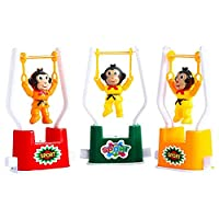 Spritumn 1PC Monkey Flip Toy Creative Wind Up Toys Funny Gymnastics Monkey Flip Toy for Kids Color Random