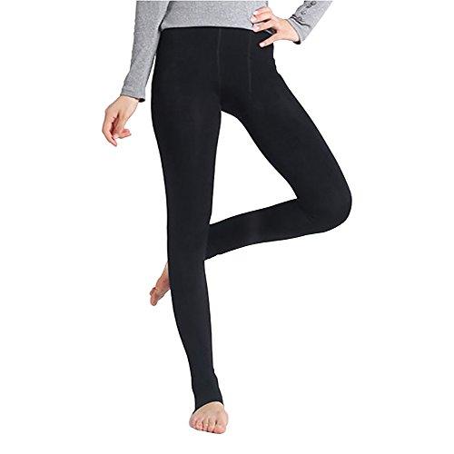 StillCool Sexy Damen Winter Leggings im Angesagten Style mit Innenfleece Extra warm Innenfutter Fleece Leggins -