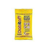 Kilrock Dabitoff Spot & Stain Remover wipes 10's Handy Size