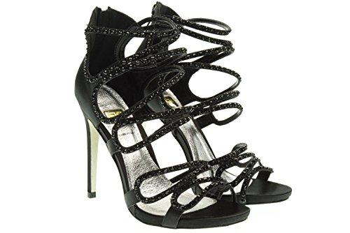 O6 MILANO donna sandali TR0166 NERO 40 Nero