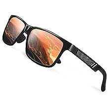 CGID MJ24 Gafas de sol Espejados nerd retro vintage unisex Cristales Polarizados