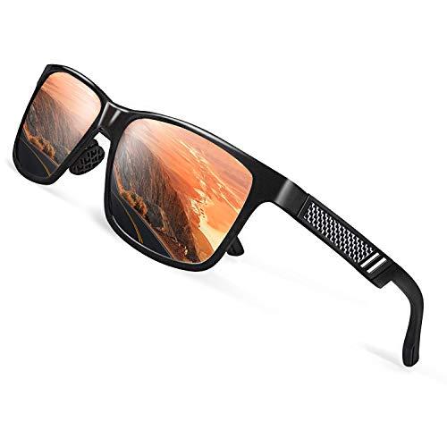 6ca362e68b CGID GD60 Estilo clásico de aleación Al-Mg Caminante gafas de sol  polarizadas UV400,