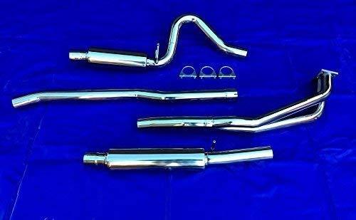 Preisvergleich Produktbild Manta B + Ascona B Edelstahl Gruppe A Gr Auspuffanlage Sportauspuff 60 mm