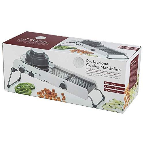 Sadruchi Adjustable Mandoline Slicer Kitchen Stainless Steel Manual Cutter Shredder Julienne for Slicing Food Fruit Vegetables