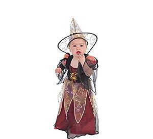 LLOPIS  - Disfraz Bebe Bruja Burdeos