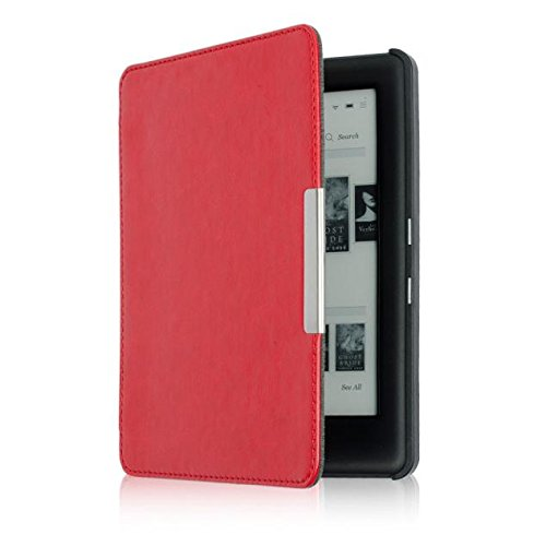 Preisvergleich Produktbild Culater für Kobo Touch 2.0 eReader PU Leder Hülle (rot)