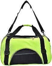 Mascota bolso ventilacion para gato- perro cómodo bolso viaje , Bandolera bolso de hombro - bolso Oxford Bolsa impermeable (verde)