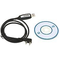 Baofeng Cable USB Cable de Programación con CD para UV UV 5R Plus/5R/UV UV-5R UV-5RA