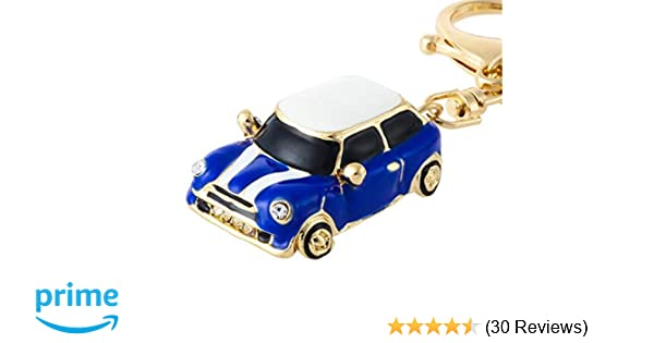 Green PSL Metal Car Keyring Keychain compatible with MINI Cooper car