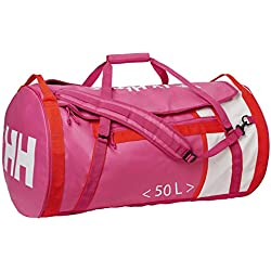 Helly Hansen Waterproof Duffel Bag, Unisex Adultos, Rosa (Dragon Fruit), 65x40x65 cm (W x H x L)