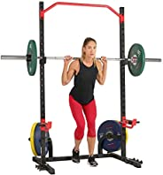 Sunny Health & Fitness Unisex Adult SF-XF9931 Power Zone Squat Stand - Black, One