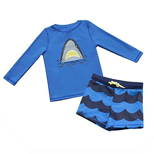 Traje de baño para niños al aire libre Rash Guard Shirts Body SuitUPF 50+ Sunsuits UV Traje de baño...