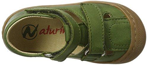 Naturino Naturino 3996, Chaussures Bébé marche bébé garçon Grün (Militaergruen)