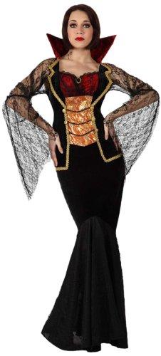 Kostüm Vampir De Femme (Atosa 8422259148791 - Verkleidung Weibliche Vampir mit transparenten Ärmeln,)