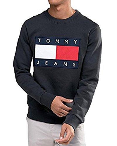 TOMMY HILFIGER - Herren Sweatshirt - schwarz, S