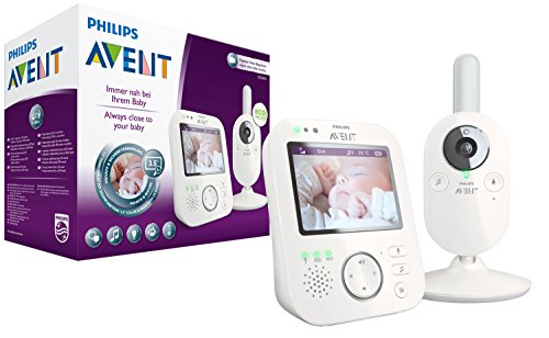 Philips Avent SCD630/26 Video-Babyphone 3,5 Zoll Farbdisplay