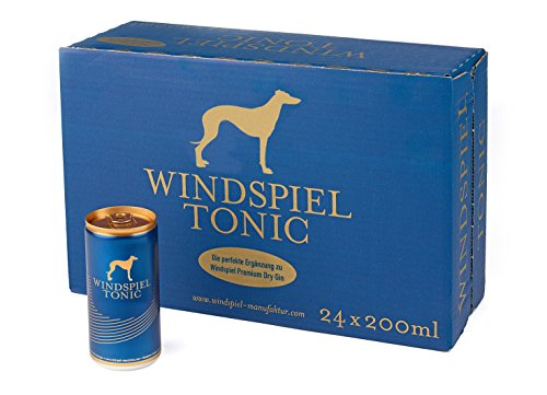 Windspiel Tonic Water 24er-Pack in Geschenkbox Dose incl. Pfand