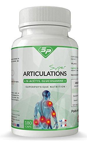 Super Articulations : protection des cartilages articulaires et des articulations (+ de 3 mois d'utilisation, façonné en France)