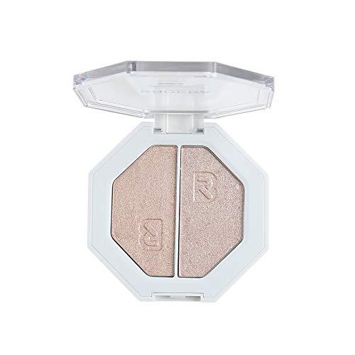 PinkLu Lidschatten Creme,Zweifarbiger Highlighter Make Up Shimmer Cream Face Highlight Lidschatten Mode Geeignet FüR AnfäNger Zweifarbiger Hochglanz-Lidschatten