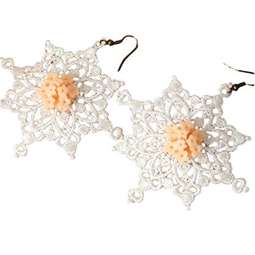 Earrings for Women Spider Dangle Drop Earring Black Jewelry Costume ()