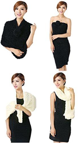 My Shope multi wear fashionable magic scarf multi style streachable Black &...