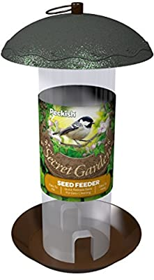 Peckish 17 x 17 x 20 cm Secret Garden Bird Feeder from Westland