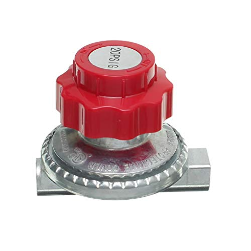 Yongse Einstellbarer Schaltventilschalter 0 bis 20psi Propanregler LPG Gasteile -