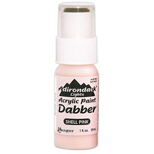 Adirondack Acrylfarbe dabbers Ranger Industries Lichter Dabber, Shell Pink -