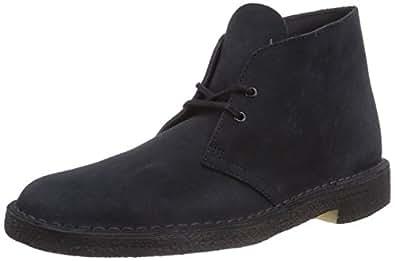 Clarks Desert Boot, Stivali Chukka Uomo, Blu (Navy), 38