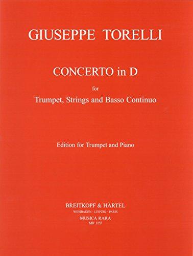 Concerto in D - Ausgabe für Trompete und Klavier (MR 1155)