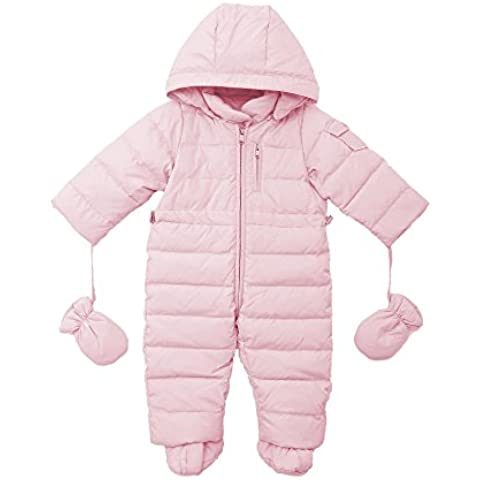 Oceankids Tuta monopezzo / tuta da neve / da passeggino con cappuccio, da bambino e bambina 0-24 Mesi