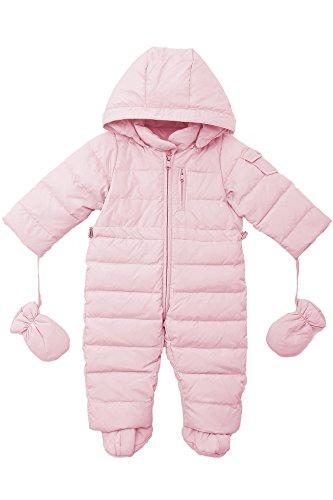 oceankids-baby-saugling-madchen-jungen-pink-schneeanzug-mit-kapuze-9-12-monate
