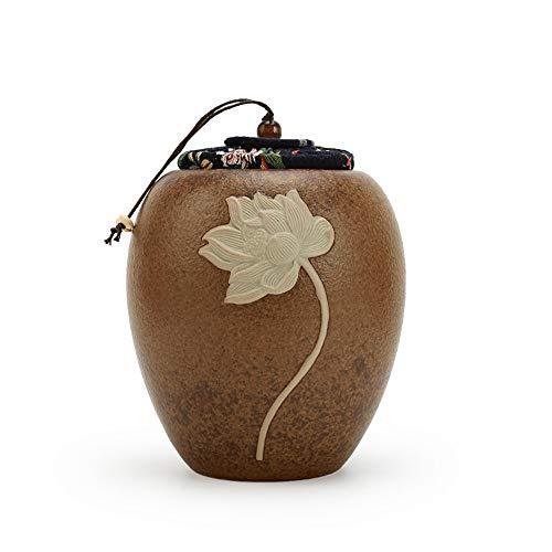 QYWSJ Urnas de Mascotas para Perros Cenizas, para Las Cenizas Humanas, Cajas de CremacióN de Mascotas, Mostrar Urna de Entierro En Casa (TamañO PequeñO, Urna de Bebé)
