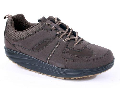 hundeinfo24.de Aktiv Outdoor Schuhe Gr. 43 Fitnesschuhe Sneaker Gesundheitsschuhe braun