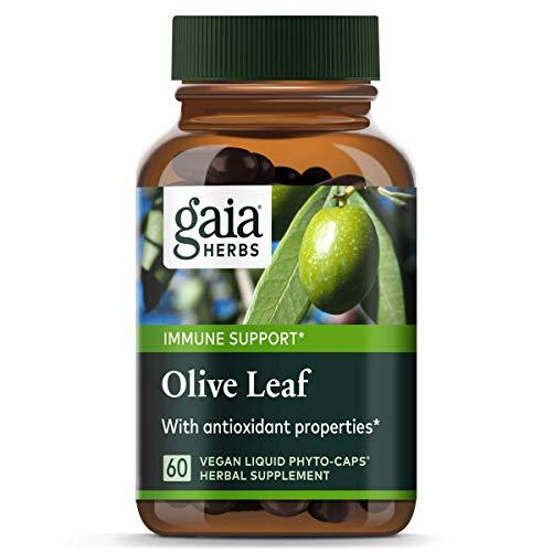 Gaia Kräuter, Olive Leaf, 60 Flüssigkeit gefüllte Kapseln - Gaia Kräuter