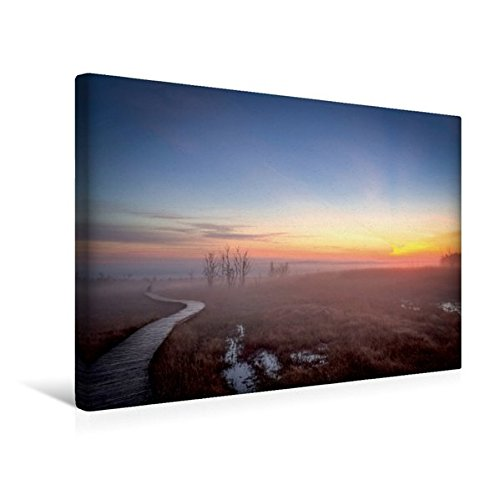 Premium Textil-Leinwand 45 cm x 30 cm quer, Ein Motiv aus dem Kalender Das Hohe Venn   Wandbild, Bild auf Keilrahmen, Fertigbild auf echter Leinwand, Leinwanddruck (CALVENDO Natur)