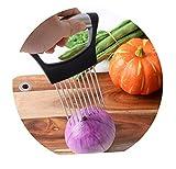 Yw-Kitchenware Porte-Oignon, légume trancheur de Pommes de Terre, Gadget de Tranche...