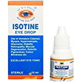 Dr Basu Isotine Herbal Eye Drop (10 ml) - Pack of 6