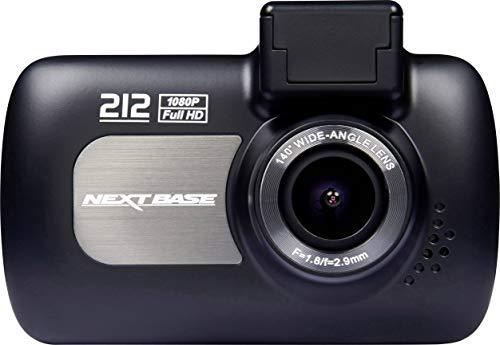"Nextbase 212G Dash Cam - 1080P 2.7"" LED Car Recorder Night Vision G-Sensor - Black"