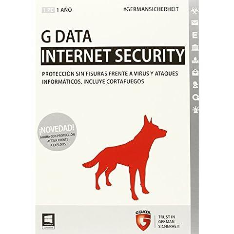 G DATA Internet Security 2015 - Seguridad y antivirus (Caja, 1 Año(s), 512 MB, ESP, Win)