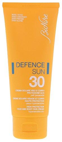 Bionike defence sun, crema minerale solare spf 30, protezione alta, 100 ml