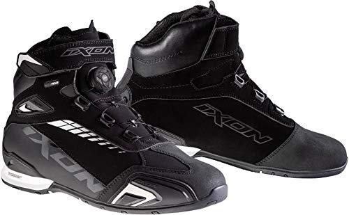 Ixon Coppia di scarpe Bull Waterproof nere bianch